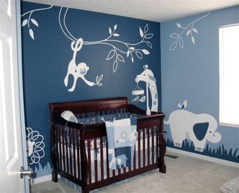 Design Ideas For Baby Boy Bedroom Cuartos De Beb 233 En Azul Dormitorios Colores Y Estilos