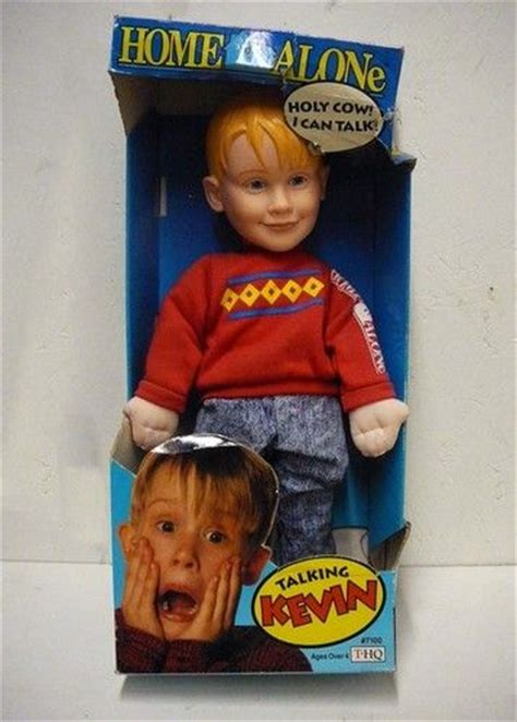 home alone talking kevin doll in the box