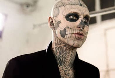 skeleton tattoo guy somediffrent skull