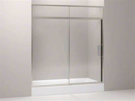 Kohler Steam Shower Doors Kohler Lattis R Pivot Shower Door With Sliding Steam Transom 89 1 2 Quot H X 69 Contemporary