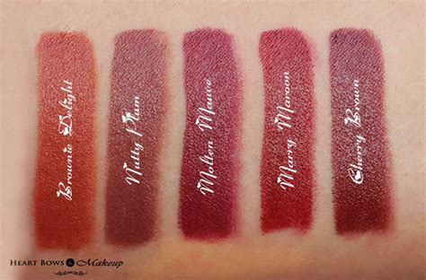 Lipstik Oriflame Matte oriflame the one matte lipstick review swatches price