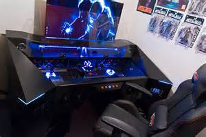 desk for gaming pc futuristic gaming pc in a desk project alternate