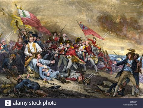 Of The Revolution battle of bunker hill at the outset of the american
