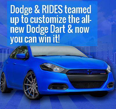 Dodge Dart Sweepstakes - win customized dodge dart in sweepstakes sweepstakesbible