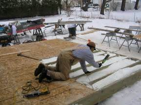 Building A Patio Deck by Build Small Sunroom On Deck Homedesignpictures