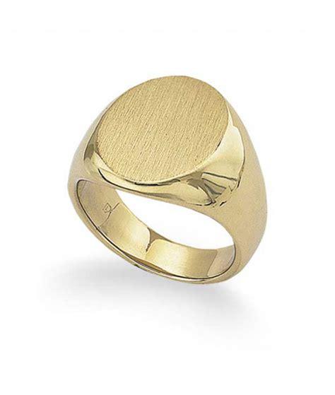18k yellow gold s signet ring 35 6g tara jewelry