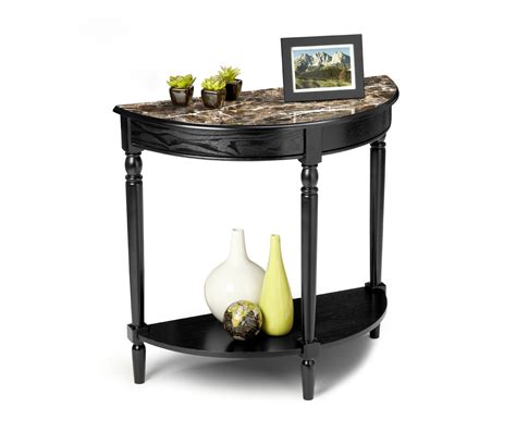 convenience concepts country entryway table convenience concepts country faux marble entryway