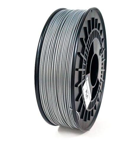 Filament Pla 3d Printer 175 Mm Silver mega 3d orbi tech pla filament 1 75 mm silver for 3d printing