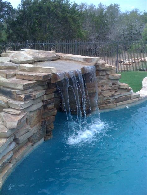 pool fountains and waterfalls 17 best images about pool waterfalls fountains and water