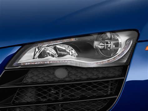 audi r8 headlights image 2010 audi r8 2 door coupe 5 2l auto quattro