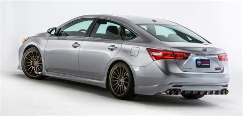 toyota camry trd toyota to show five trd concepts at sema 2015 corolla