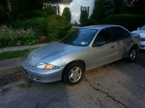 2001 Cavalier 4 Door by Find Used 2001 Chevrolet Cavalier Base Sedan 4 Door 2 2l