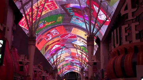 fremont street light show schedule fremont street experience las vegas light show full hd
