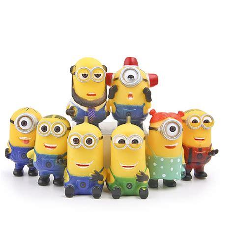 Minions Set Figure by 8pcs Set Despicable Me Minion Figures Minions Mini