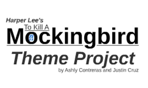 themes in to kill a mockingbird prezi to kill a mockingbird theme project by justin cruz on prezi