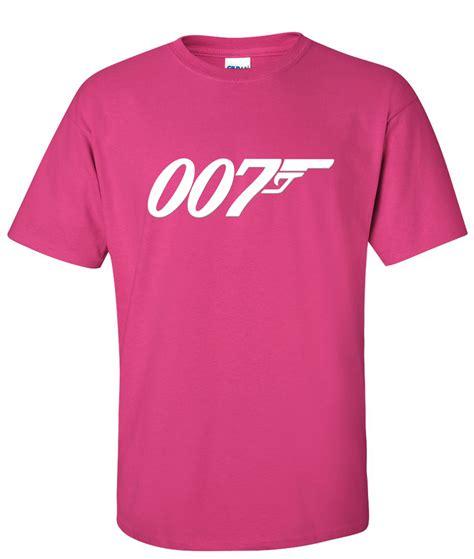 Tshirt Kaos Jamesbond 007 007 bond logo graphic t shirt supergraphictees