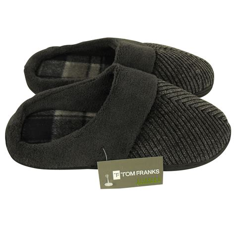 boys slippers size 13 boys faux suede cord comfort warm slipper mule slippers