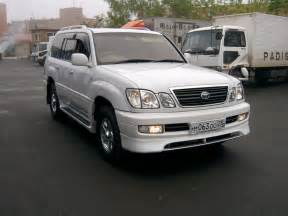 1999 lexus lx 470 information and photos zombiedrive