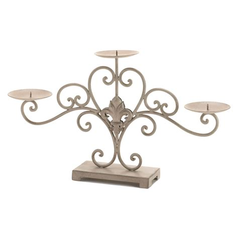 wholesale fleur de lis home decor fleur de lis candle stand wholesale at koehler home decor