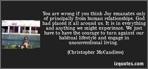 chris mccandless quotes chris mccandless quotes about nature quotesgram