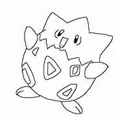 Togepi Coloring Page