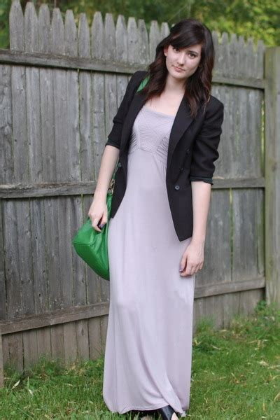 Maxi Dres And Blazer light purple maxi dresses black thrifted boys blazers
