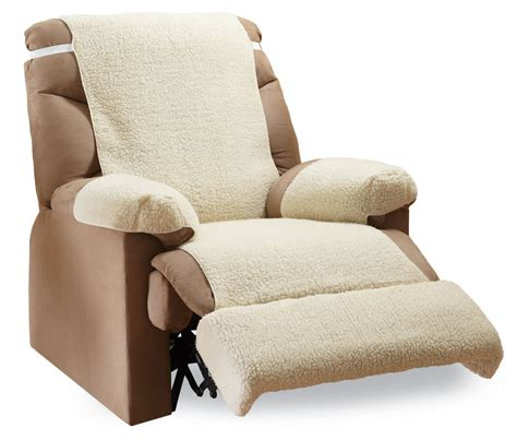 fleece recliner chair covers recliner fleece furniture covers 4 pc by collections
