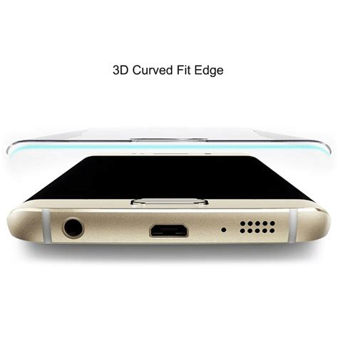 Tempered Glass Cover 4d 3d Samsung S7 Edge G935 Color 3d curved tempered glass screen protector galaxy s7 clear