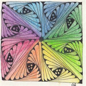 zentangle color color zentangle zentangles