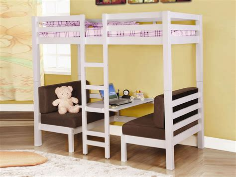 futon bunk bed with desk loft beds with futon medium brown twin twin convertible