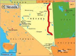 map of and surrounding states map of nevada and surrounding states world map 07
