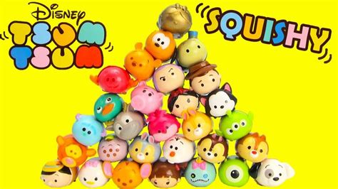 Squishy Gelas Medium disney tsum tsum squishy figure 5 packs with