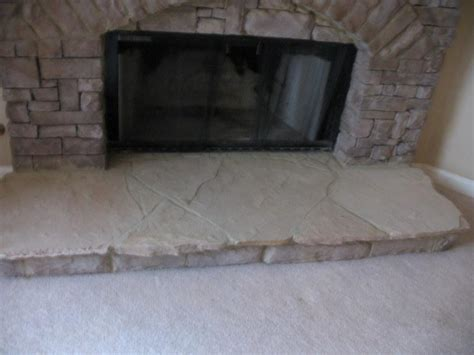 Flagstone Fireplace Hearth by Indoor Stack Fireplace From Jackpot Construction In
