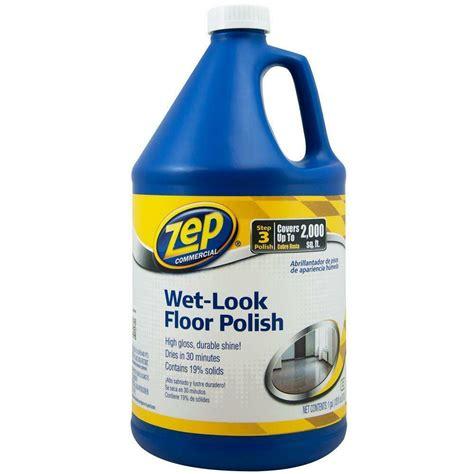 zep commercial zuwlff wet  floor polish  gallon