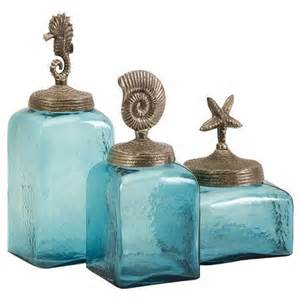 Beach Themed Kitchen Canisters by Canisters For Beach Themed Bathroom Future Home Decor