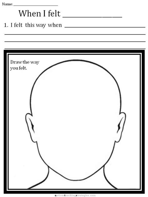 Drawing Your Feelings by Cbt Children S Emotion Worksheet Series Draw Your Upset