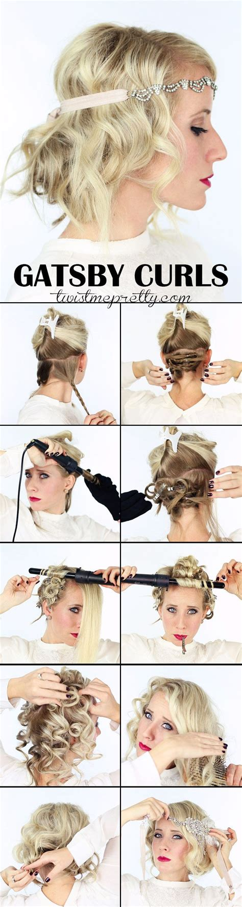 diy 1920s flapper hairstyles 1000 ideas about flapper hairstyles on pinterest revlon