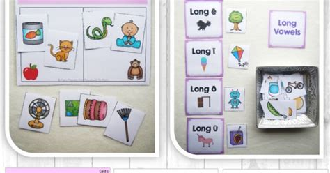 printable sound dice free short vowel and long vowel sort roll a dice long