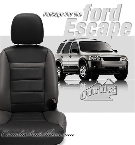 2008 ford escape seat covers leather 2001 2008 ford escape leather upholstery