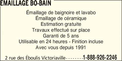 emailleur baignoire emaillage bo bain victoriaville qc 2 rue des 201 boulis