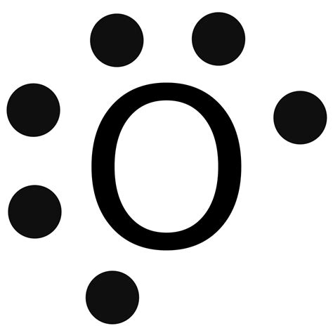 lewis dot diagrams file lewis dot o svg wikimedia commons