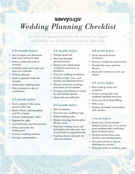Wedding Year Checklist by 1 Year Wedding Planning Checklist Myideasbedroom