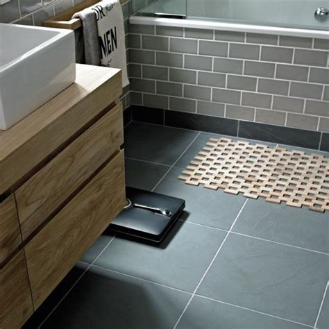 slate grey tiles bathroom 40 grey slate bathroom floor tiles ideas and pictures