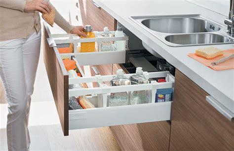Light Grey Cabinets In Kitchen blum antaro tandembox sink drawer d height 450mm