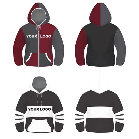 hoodie design vector hoodie sweater t shirt vector template free by