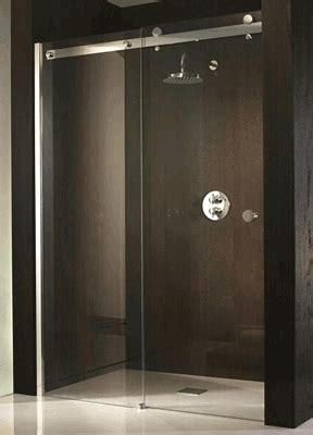 Bathroom Glass Sliding Door Sliding Glass Shower Doors On Sliding Shower