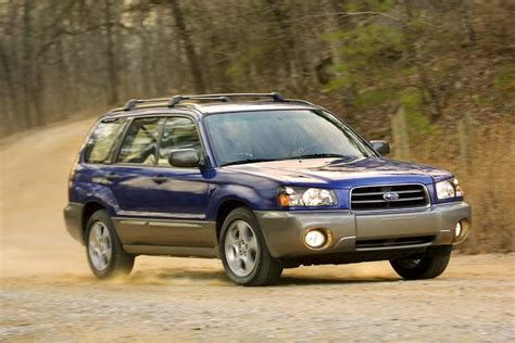 price subaru forester 2004 subaru forester reviews specs and prices cars