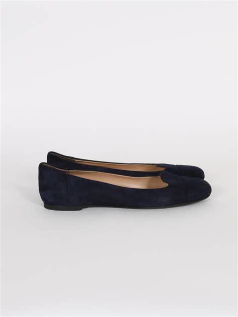 armani exchange loafers emporio armani blue suede loafer ballerinas 40