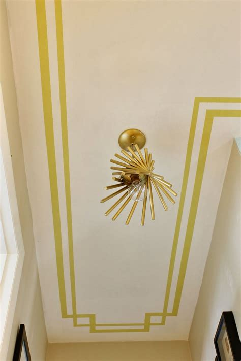 Ceiling Border Ideas - border painted on the ceiling this idea for a