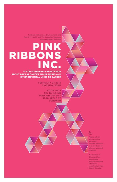 pink poster cwhn nnewh present pink ribbons inc canadian women s